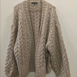 Kendall & Kylie o/s knit sweater